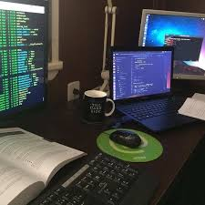 Programmer Desk Setup 128 Best Software Images On Pinterest Pc Setup Desk Setup And