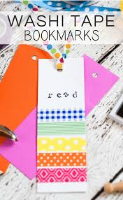 what is washi tape washi tape bookmarks a simple craft for kids kenarry