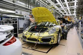 porsche 911 factory porsche 911 production how porsche 911 is made