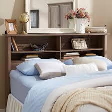 Queen Bed With Shelf Headboard by Andover Mills Full Queen Bookcase Headboard U0026 Reviews Wayfair