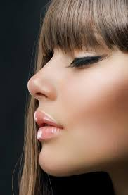 hairsyles that minimize the nose which ladies hairstyles to fit the shape of your nose hum ideas