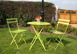 Lime Green Bistro Table And Chairs Lime Green Garden Furniture Paint Green Garden Bench Lime Green