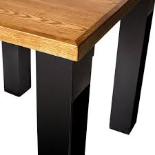 Standard End Table Height by Bfm Seating Jstb3060bl I Beam Black Rectangular Standard Height