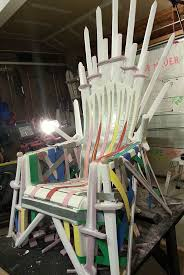 Chair Game Of Thrones Diy How To Make Your Own Iron Throne Sciencefiction Com