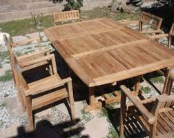 Teak Patio Furniture Teak Furniture Etsy