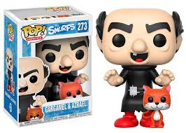 pop animation smurfs gargamel azrael funko