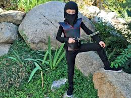 sewing pattern ninja costume easy diy ninja costume for kids hgtv