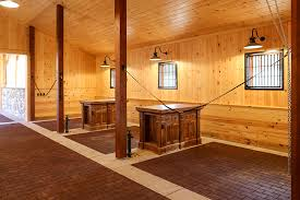 Northvale Floor Plan Decloet Indoor Riding Arena With Fabric Roof With Attached Barn