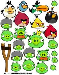 angry birds printables lots print