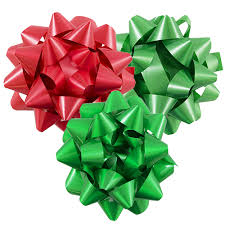 large gift bows 8 inch diameter jam paper