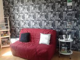 chambre ado new york awesome chambre gris et rouge ado pictures home decorating ideas
