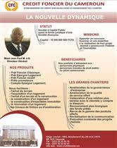 credit foncier siege social yaounde financial institutions