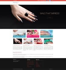 nail salon website in 15 minutes izmoweb com