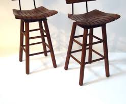 stools backless brown leather counter stools with nailheads