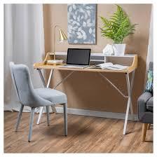 Computer Desk Oak Aalto Computer Desk White Christopher Knight Home Target