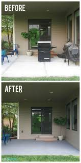 Painting Patio Pavers by Best 25 Painted Concrete Patios Ideas Only On Pinterest