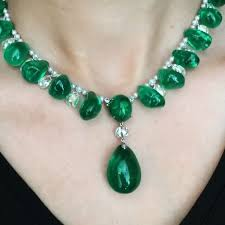 emerald gemstone necklace images 1376 best emerald images diamond jewellery diamond jpg