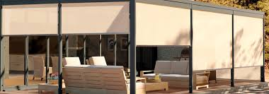 Motorized Cabinet Doors Improbable Exterior Motorized Patio Shade Completed Furniture Rn