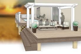 Design Plans Deck Design Plans Inteplast Building Products