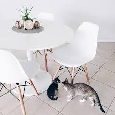 dining table eames chairs u0026 ikea docksta table minimal dining