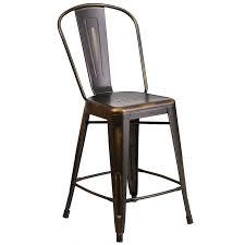 industrial metal bar stools with backs industrial metal bar stools with backs black stool back backrest uk