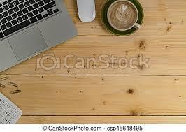 dessus de bureau vue dessus bureau bureau café bureau tasse sommet