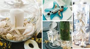 Cake Decorations Beach Theme - starfish themed wedding table decorations and centerpieces