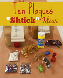 passover masks 10 plagues creative frugal ten plagues shtick ideas for your passover seder