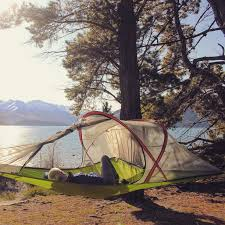 Hanging Tent by Lake Wanaka New Zealand Queenstown New Zealand Hanging Out In