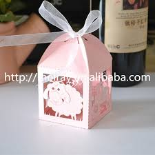 cookie party supplies party supplies wholesale china laser cut sheep gift favour box