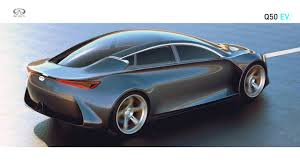 electric infiniti q50 ev could give tesla model s competition has