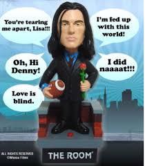 new the room talking johnny bobblehead tommy wiseau ebay