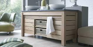 meuble de salle de bain avec meuble de cuisine meuble salle de bain nature idées déco espace aubade