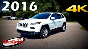 cherokee jeep 2016 price 2016 jeep cherokee latitude ultimate in depth look in 4k youtube