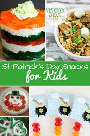patrick u0027s day snacks for kids