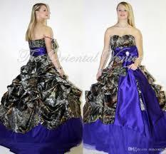discount royal blue plus size camouflage wedding dresses 2017