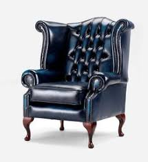 Chesterfield Wing Armchair Chesterfield Armchair Queen Anne High Back Fireside Wing Chair