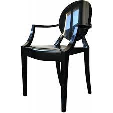 bureau starck black kartell louis ghost armchair philippe starck 2000