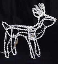 lighted yard decorations reindeer ebay