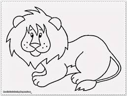 printable coloring pages of animals in the jungle fun color page