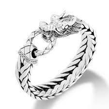 ring bracelet chain silver images John hardy naga bm65210 rectangular silver bracelet jpg