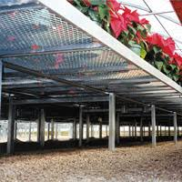 commercial growing metal benches greenhouse megastore