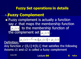 Sets Union Intersection Complement Worksheets Fuzzy Set Operations Ppt Video Online Download