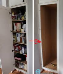 Diy Kitchen Pantry Ideas by Add A Pantry Cabinet To Your Kitchen Home Decorating Interior