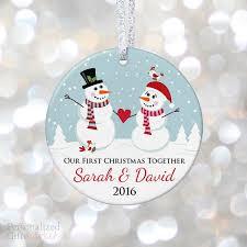 boyfriend together ornament