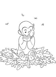happy curious george coloring pages cartoon coloring pages