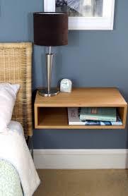 Floating End Table by Floating Bedside Table In White Oak U2014 Krøvel Made