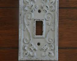 Gray Light Switch Light Switch Plate Light Plate Cover Cast Iron Switchplate