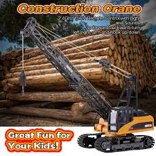 huina toys 1572 1 14 2 4ghz 15ch remote control construction crane