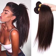 babe hair extensions amazon com babe hair 100 human hair extensions dark brown 2